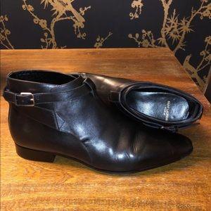 Men's YSL boots.